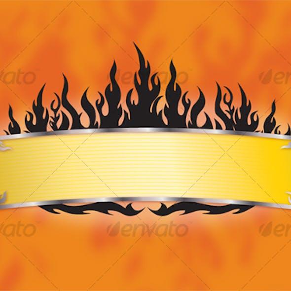 Flames Banner