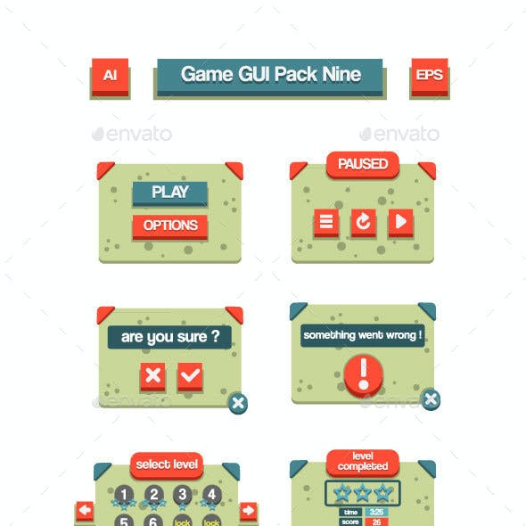 Game GUI Pack Nine