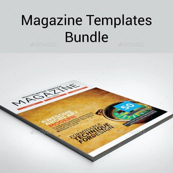 4 in 1 Magazines Bundle