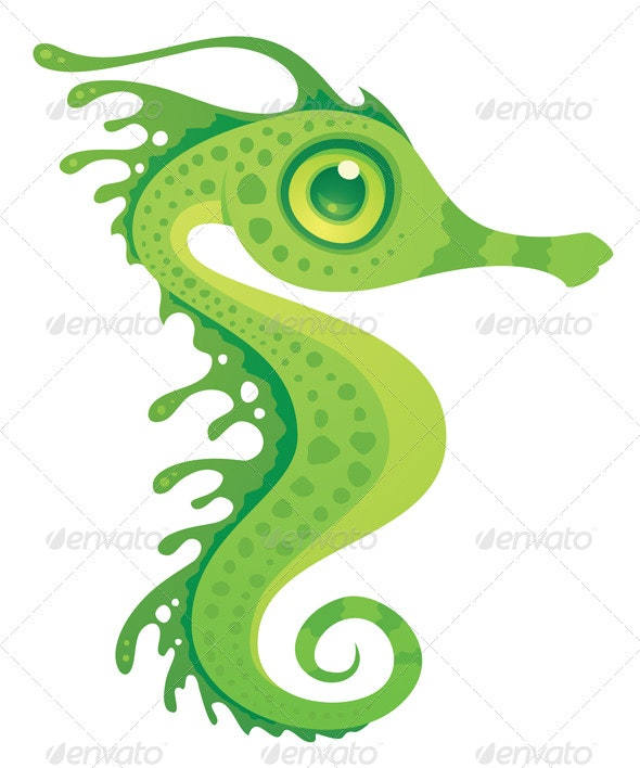 Leafy Sea Dragon Seahorse - Animals Characters