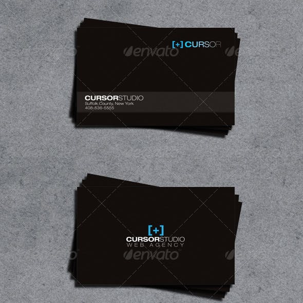 Web Agency Business Card