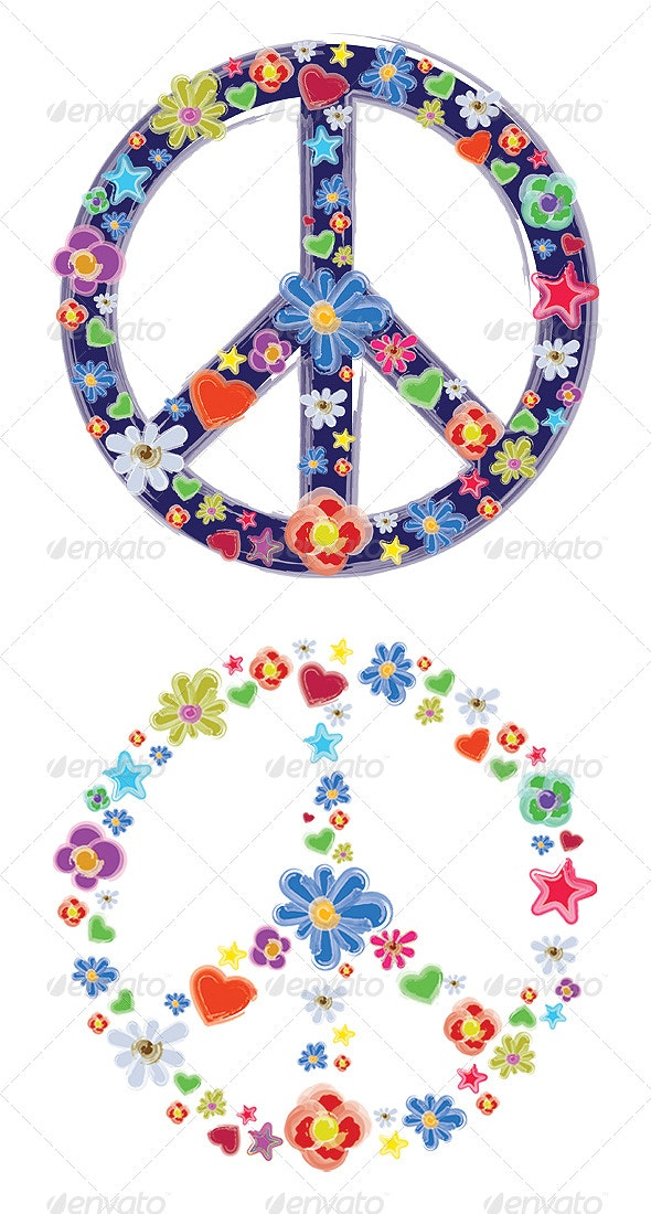 Peace sign - Decorative Symbols Decorative