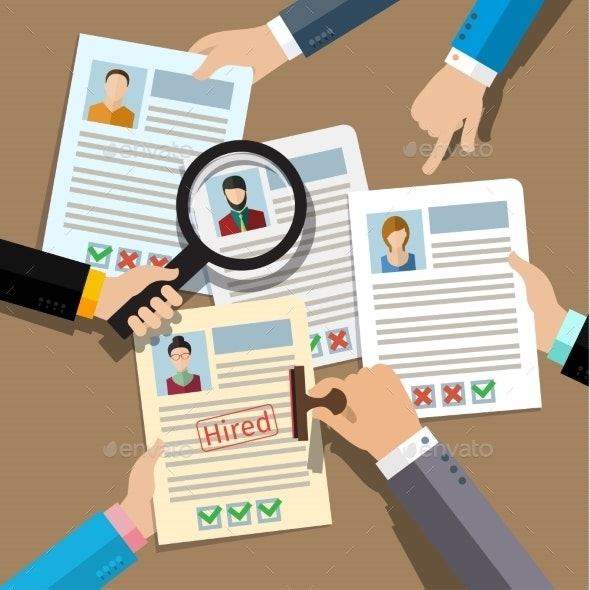 Concept Of Searching Professional Staff - Concepts Business