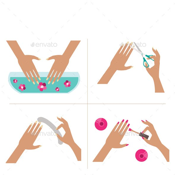 Steps Manicure