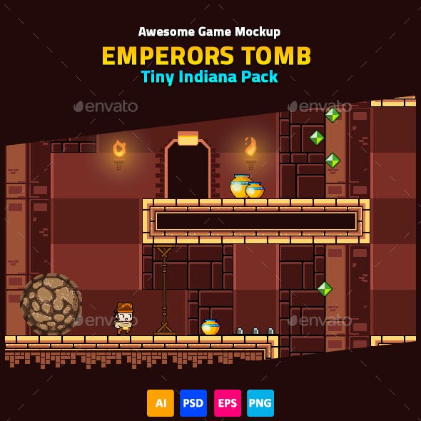 Game Mockup: Emperors Tomb