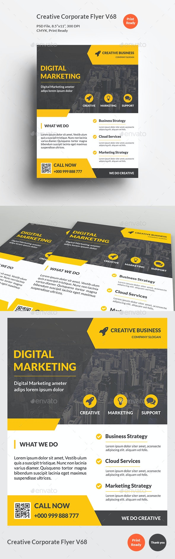 Creative Corporate Flyer V68 - Corporate Flyers