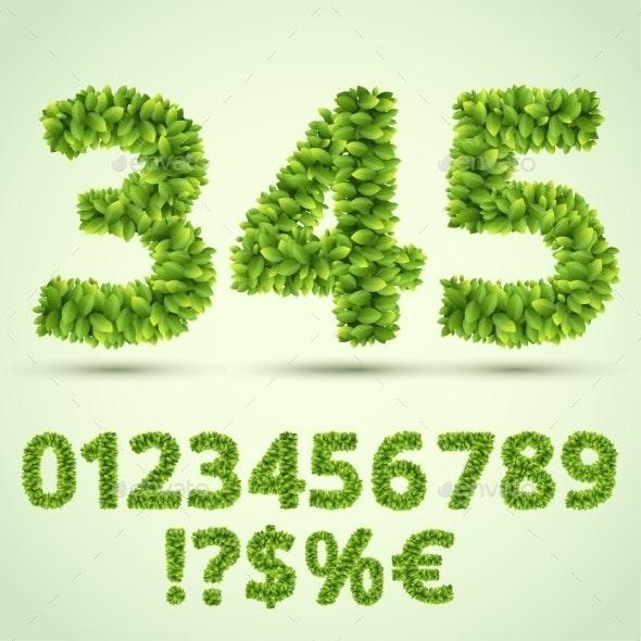 Green ABC - Flowers & Plants Nature
