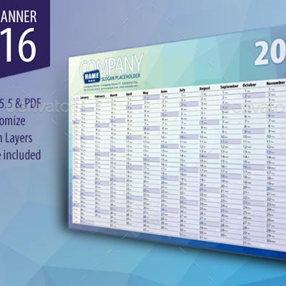 Year Planner 2016