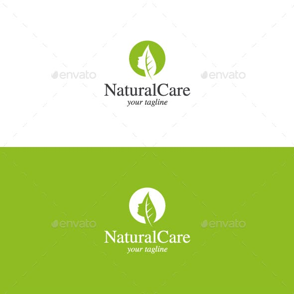 Natural Care - Beauty Salon Logo