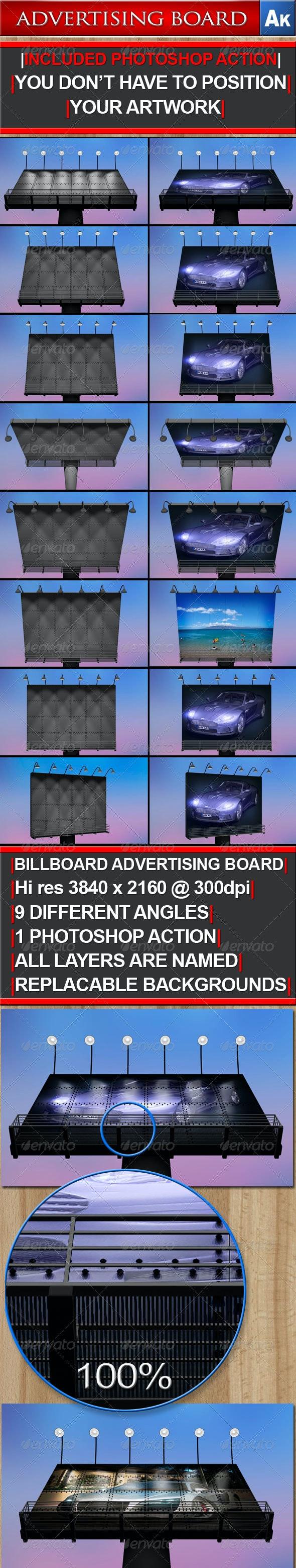 Billboard, Advertising Board - Signage Print