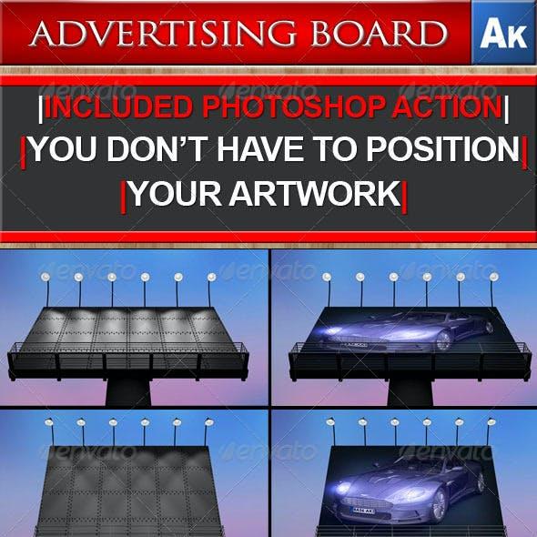 Billboard, Advertising Board