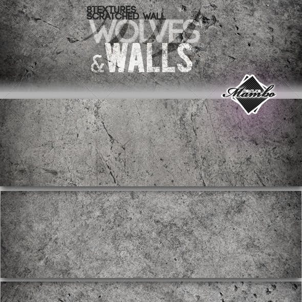 Wolves & Walls - Concrete wall textures