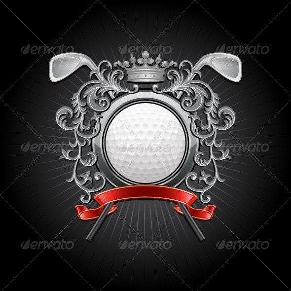 Golf - Sports/Activity Conceptual