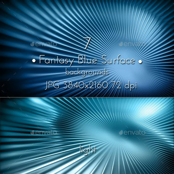 Fantasy Blue Glowing Backgrounds