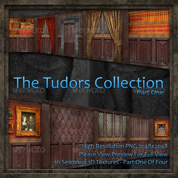 The Tudors Collection - Part One Of Four - Miscellaneous Textures