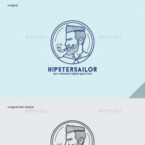 Hipstersailor Logo Mascot