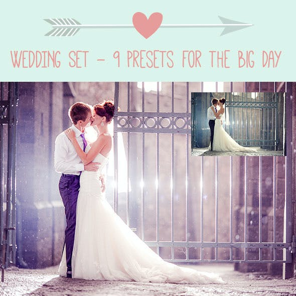 9 Wedding Preset for the Big Day