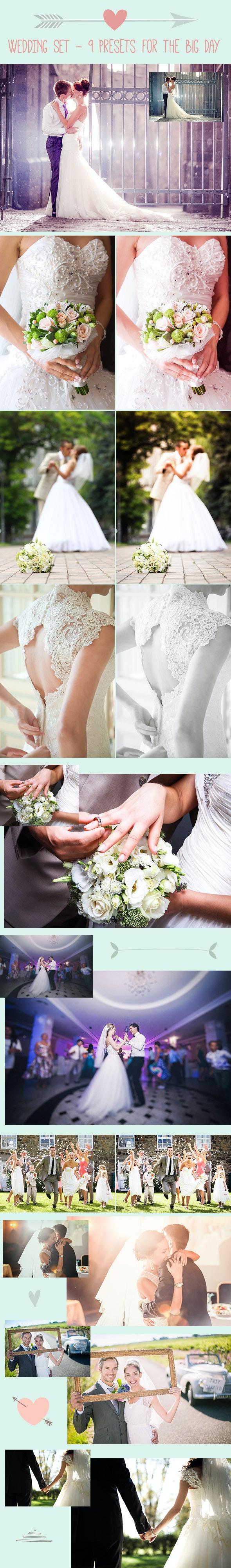 9 Wedding Preset for the Big Day - Wedding Lightroom Presets