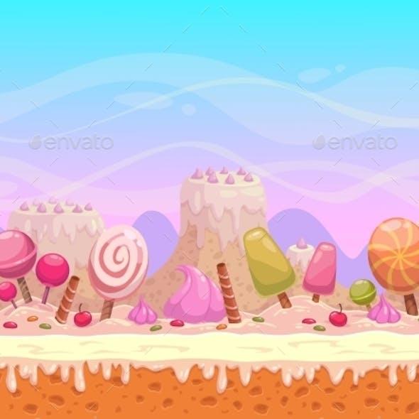 Candyland Illustration