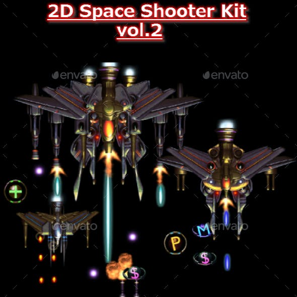 2D Space Shooter vol.2