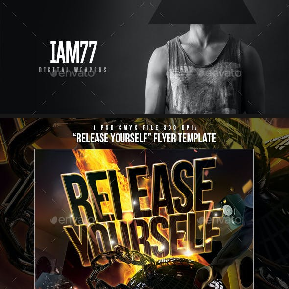 Release Yourself Club Flyer