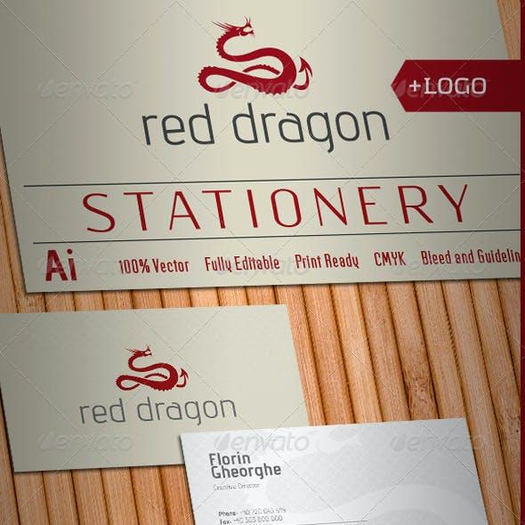 Red Dragon Stationery