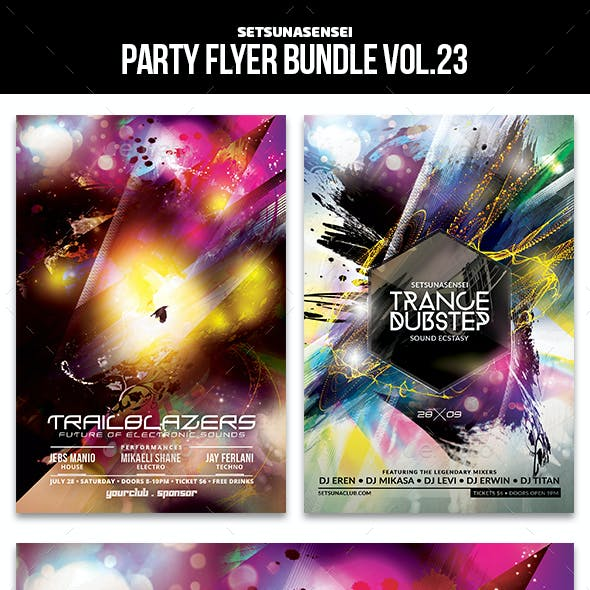 Party Flyer Bundle Vol. 23