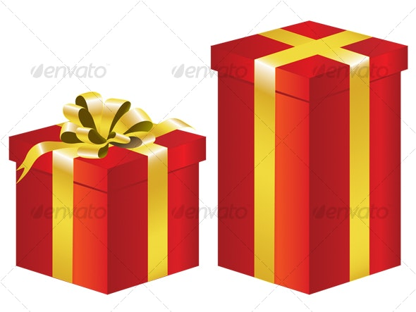 Gift Box - Christmas Seasons/Holidays
