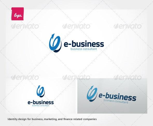 e-Business Logo Template - Symbols Logo Templates