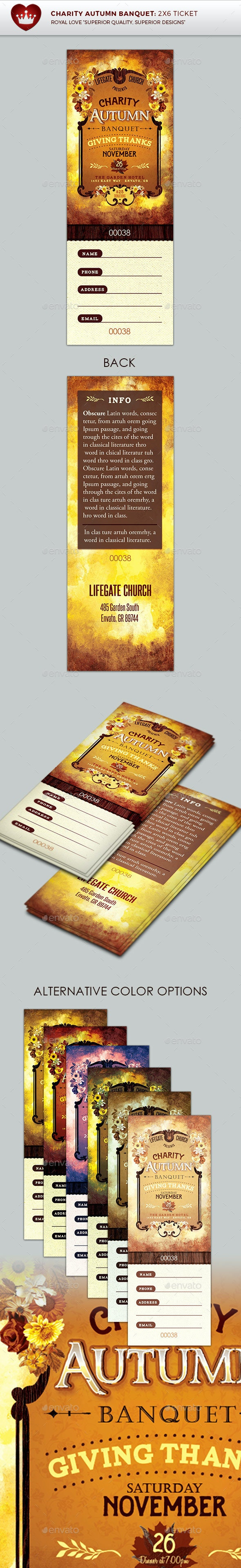 Charity Autumn Banquet Ticket - Holidays Events