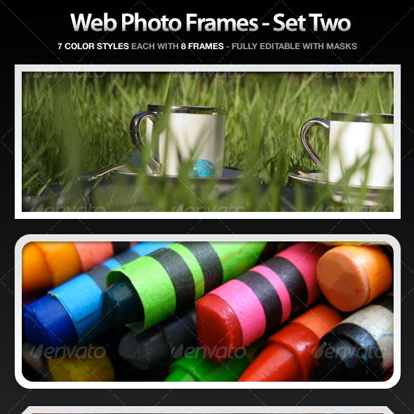 Web Photo Frames - Set Two