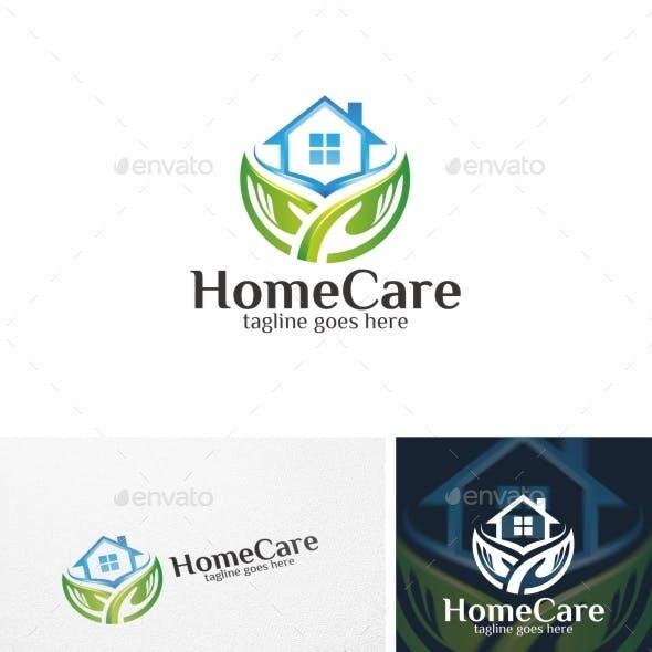 Home Care / House - Logo Template