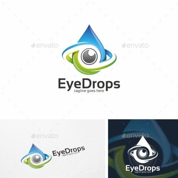 Eye Drops / Camera - Logo Template