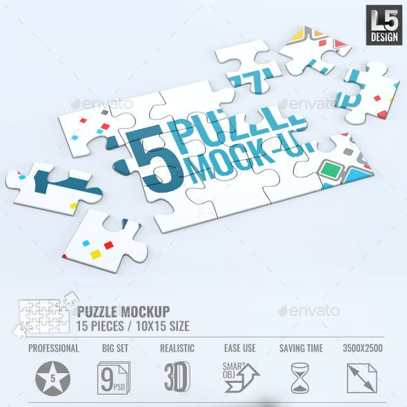 Puzzle Game Graphics, Designs & Templates from GraphicRiver