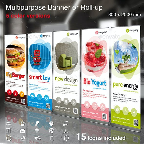 Multipurpose Banner or Rollup