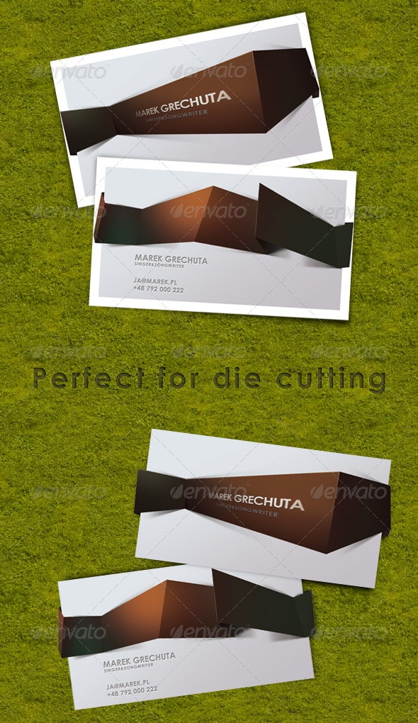 Dim3 Business Card - Creative Business Cards