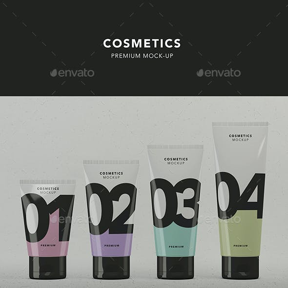 Cosmetic Packaging Graphics, Designs & Templates