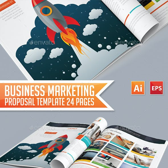 Business Marketing Proposal Template 24 Pages