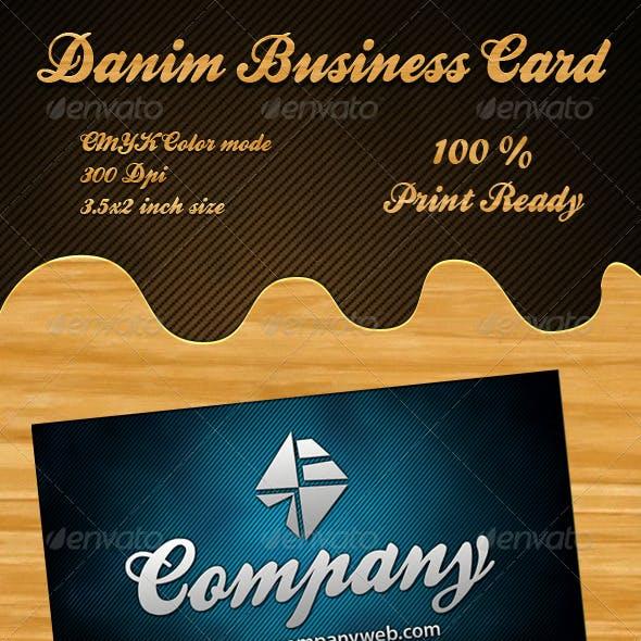 Danim Business Card