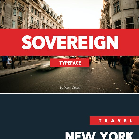 Sovereign Typeface / Modern Font