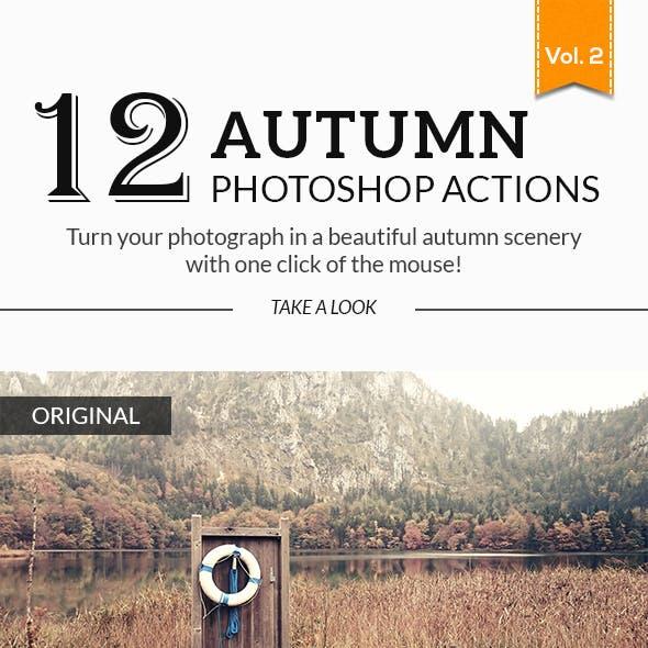 12 Autumn Photoshop Actions No.02
