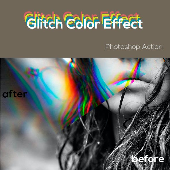 Glitch Color Effect