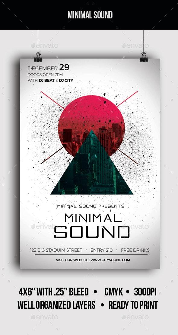 Minimal Sound - Flyer