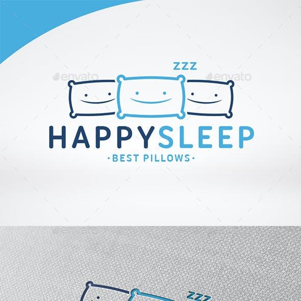 Happy Sleep Logo Template