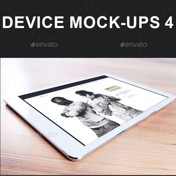 Device Mock-Ups 4