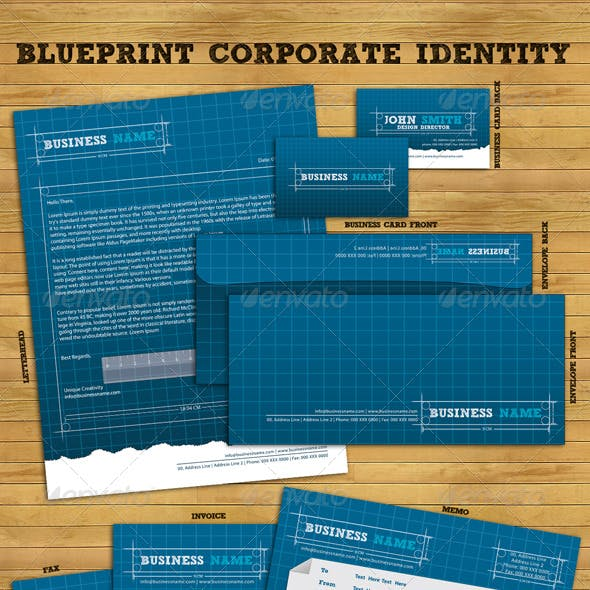 Blueprint Corporate Identity Package