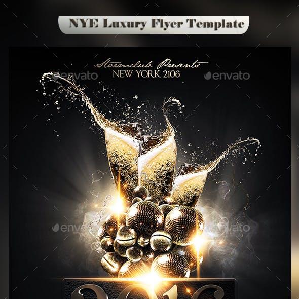 NYE Luxury Flyer Template