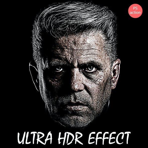 Ultra Sharpness HDR Effect