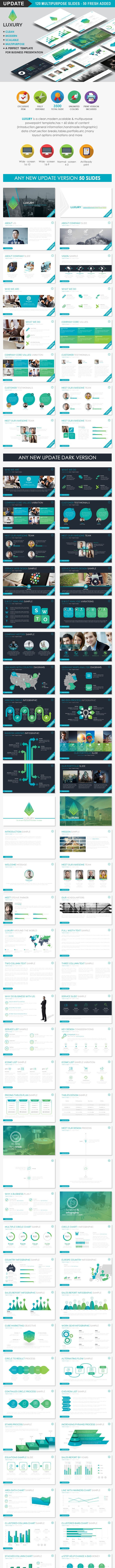 LUXURY -  Business Powerpoint Templates - Business PowerPoint Templates