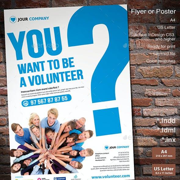 Flyer Volunteer